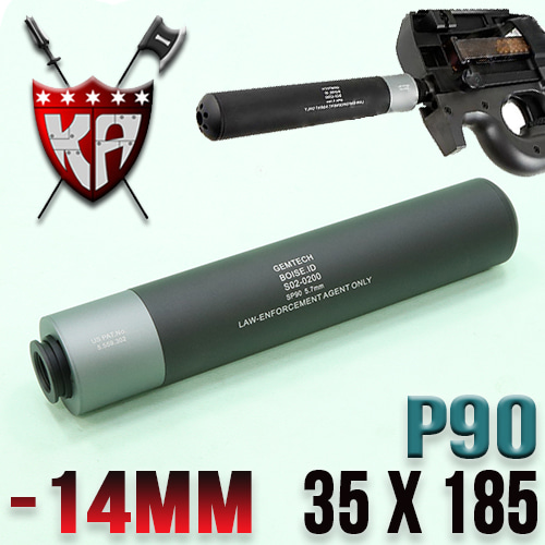 P90  Silencer with Flash Hider / 2 Tone