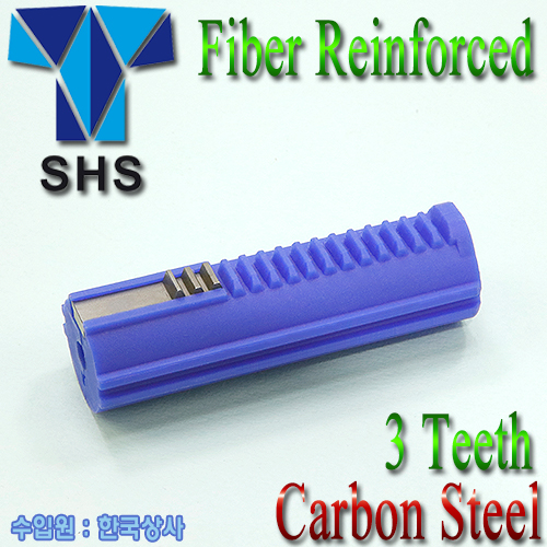 Fiber Reinforced Carbon 3Teeth Piston