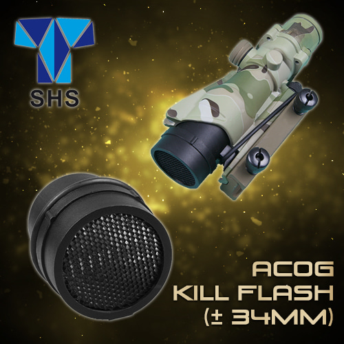 ACOG Kill Flash(± 34mm) / Black