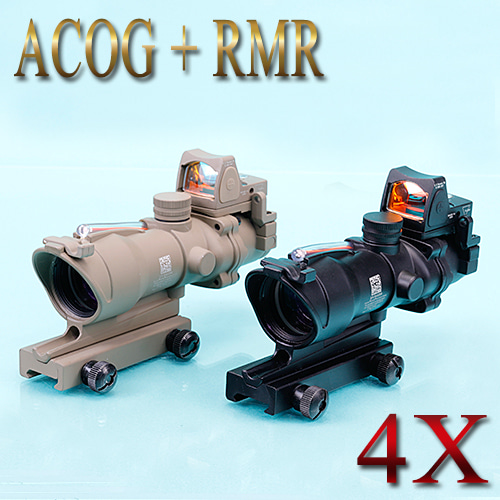 ACOG 4x + RMR  / Toy Sight