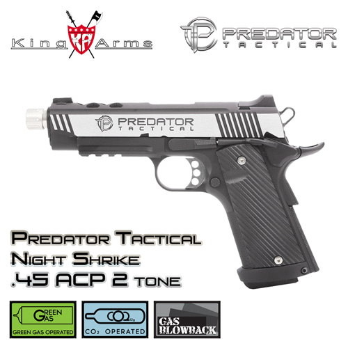 Predator Tactical Night Shrike .45 ACP - 2 Tone