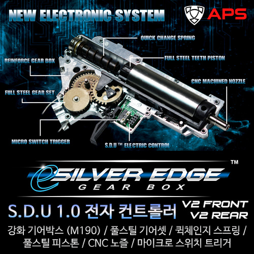 Esilver Edge Gear Box / V2
