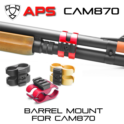 Type S Barrel Mount for CAM870