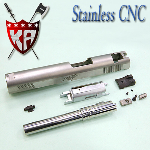 Stainless Custom slide Set /1911 (Kimber)