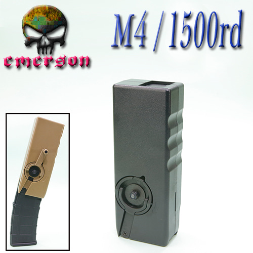 M4 Speed Loader / 1500 Rds (BK)