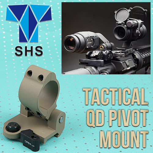 Tactical QD Pivot Mount / TAN