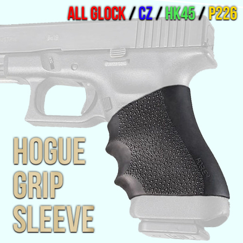 Hogue Grip Sleeve / BK