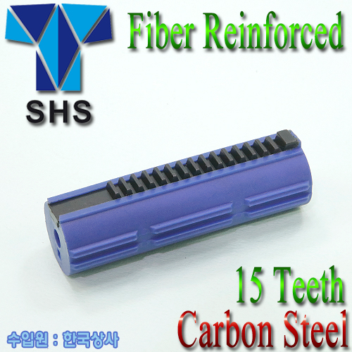 Fiber Reinforced Carbon 15Teeth Piston