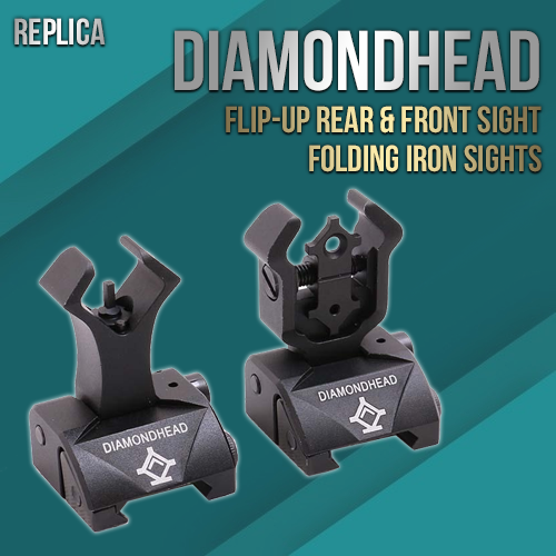 DiamondHead Flip-up Sight Set