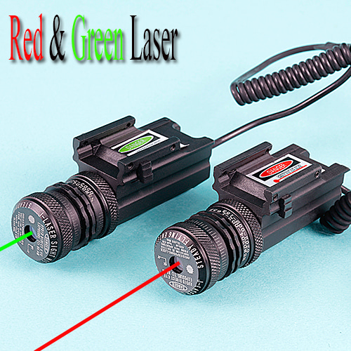 Red & Green Laser