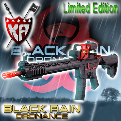 Black Rain - BR / Limited Edition