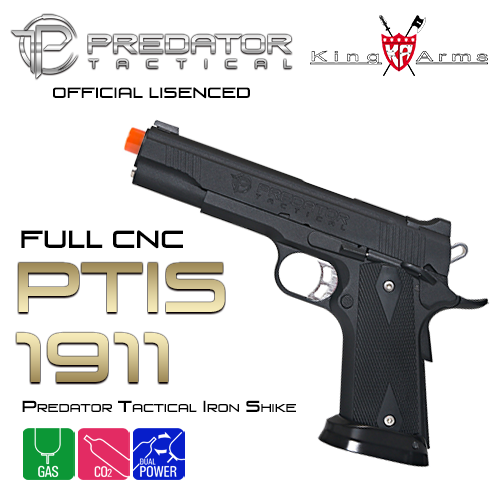 Predator Tactical Iron Shrike 1911 / BK