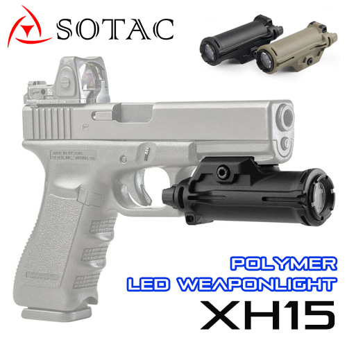 XH15 Polymer LED Weaponlight