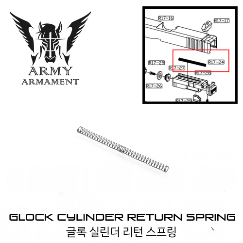 ARMY G17/18 Cylinder Return Spring
