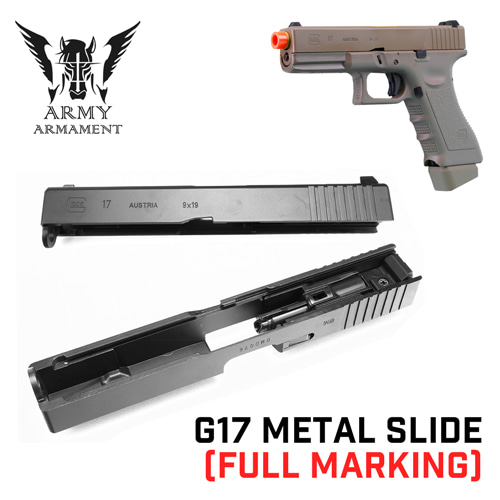 G17 Metal Slide with Full Marking