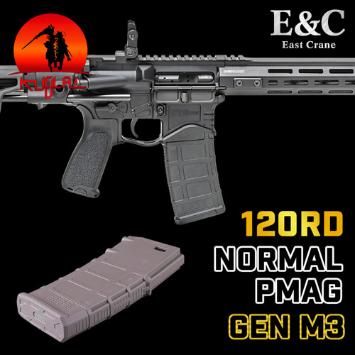 E&C Normal PMAG GEN M3 / 120rds