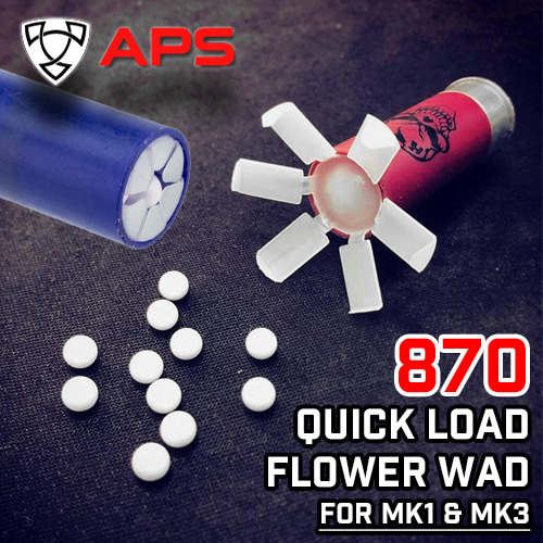 870 Quick Load Flower Wad / 50pcs