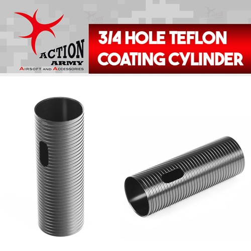 3/4 Hole Teflon Coating Cylinder