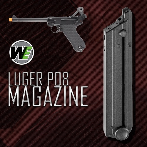 WE P08 Luger Magazine