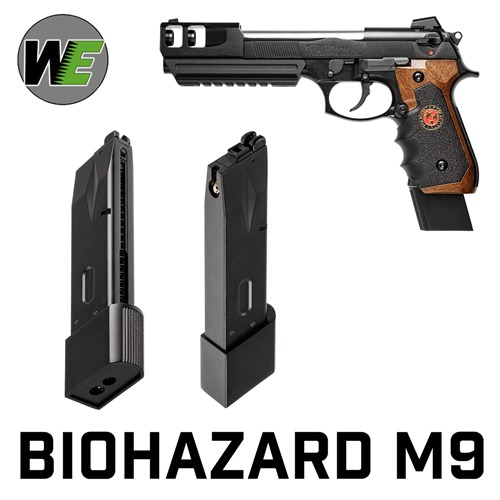WE Biohazard M9 Gas Magazine