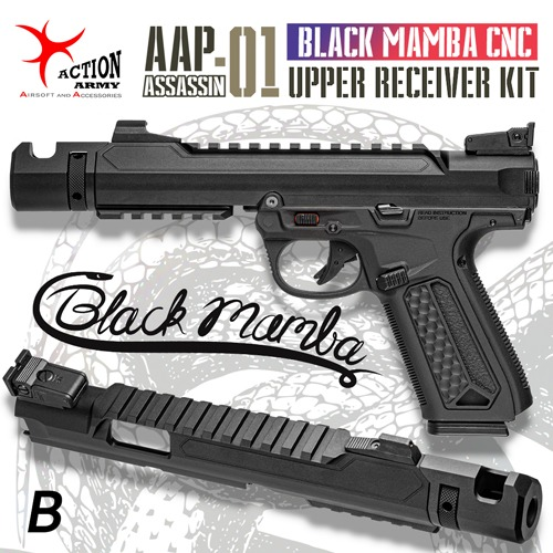 AAP-01 Black Mamba CNC Upper Receiver Kit / B type