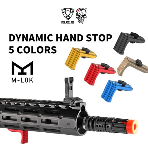 Dynamic Hand Stop Type B for M-LOK