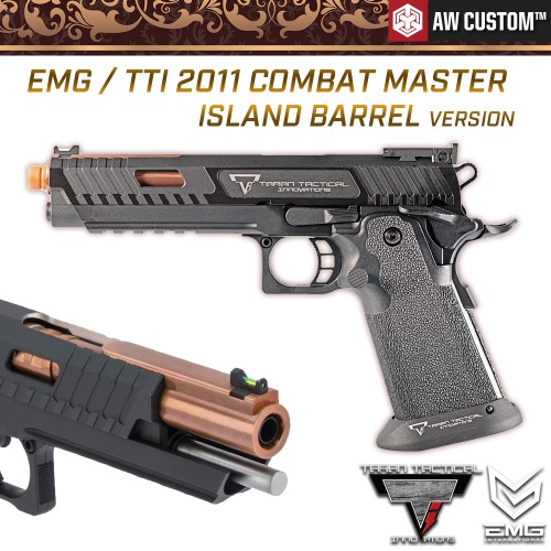EMG / TTI™ 2011 Combat Master Island Barrel Version (Semi-Auto)