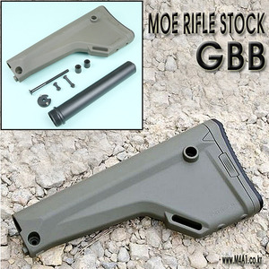 Magpul MOE Rifle Stock / GBB OD