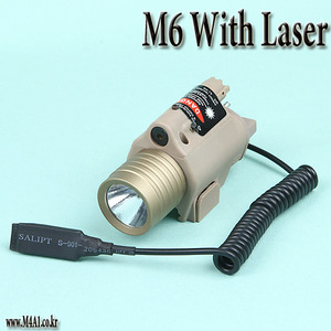 M6 With Laser Point (Cree) / TAN