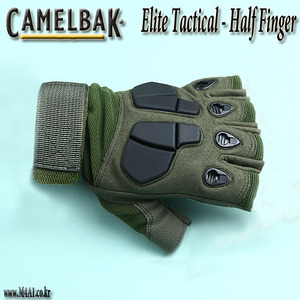 Elite Tactical Half Finger / OD