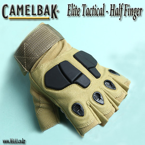 Elite Tactical Half Finger / TAN