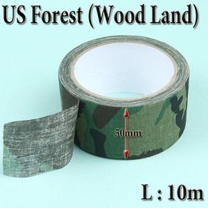 Military Camo Cloth Tape / Wood Land
