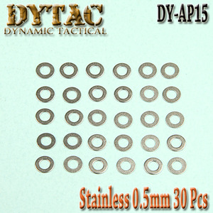 Stainless Precision Shims / 30pcs (0.5mm)