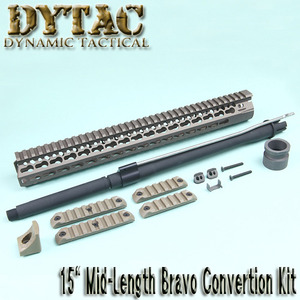 "15"" Mid-Length BRAVO Convertion Kit / DE"