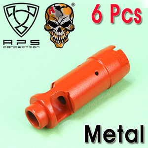 APS AK74 Flash Hider(6Pcs) / Color Parts