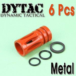 Dytac Flash Hider (6Pcs) / Color Parts- A Type