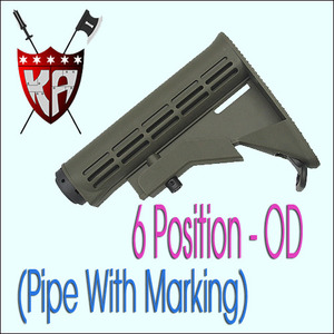 6 Position Stock - OD (Pipe With Marking)
