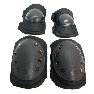Elbow & Knee Pads (Black)