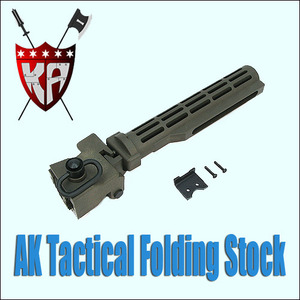 AK Tactical Folding Stock/OD