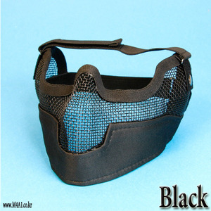 Double Mesh Mask / Black