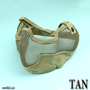 Double Mesh Mask / TAN
