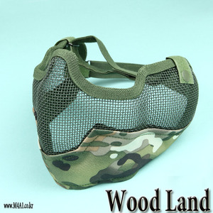Double Mesh Mask / Woodland