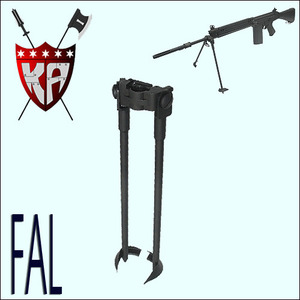 FAL Tactical Bipod