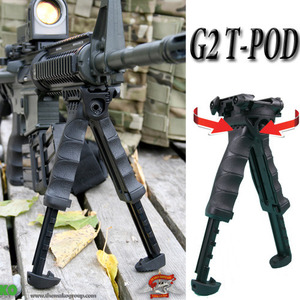 T-Pod G2 Tactical Pivoting Bipod