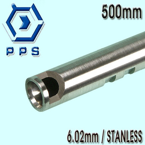 6.02mm Precision Stainless CNC Inner Barrel / 500mm