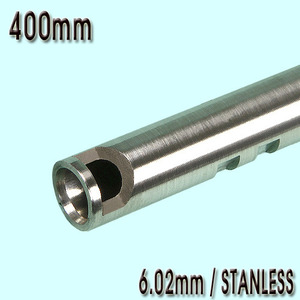 6.02mm Precision Stainless CNC Inner Barrel / 400mm