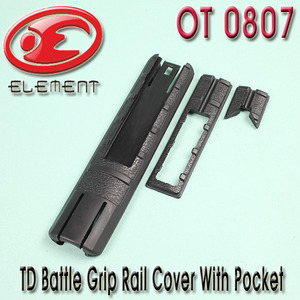 TD Battle Grip Rail Cover With Pocket
