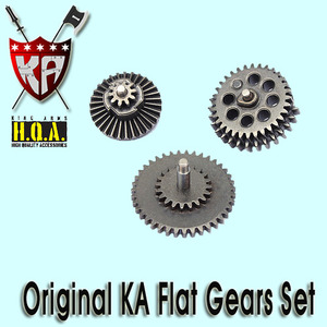 Original KA Flat Gear Set
