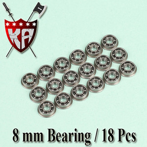 8mm Bearing (18 Pcs Bulk Pack)