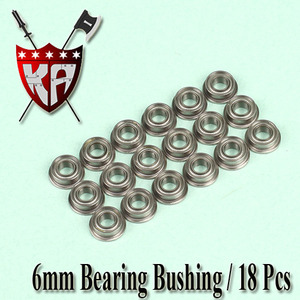 6mm Bearing Bushing (18 Pcs Bulk Pack)